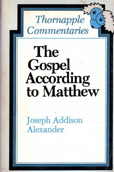 Image for The Gospel According to Matthew (Thornapple Commentaries)