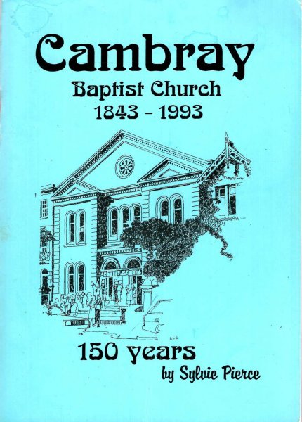 Image for Cambray Baptist Church 1843-1993 - 150 years