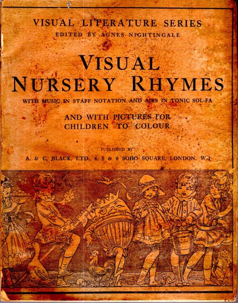 Image for Nursery Rhymes with Music and Pictures for Colouring