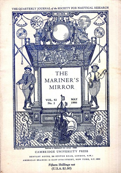 Image for The Mariner's Mirror. The Quarterly Journal of the Society for Nautical Research, volume 52, No 2, May 1966