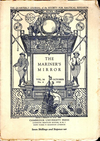Image for The Mariner's Mirror. The Quarterly Journal of the Society for Nautical Research, volume 36, No 4 October 1950
