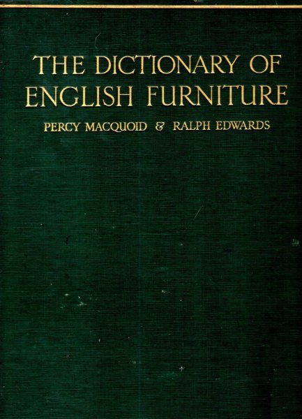 Image for The Dictionary of English Furniture from the Middle Ages to the late Georgian Period (three volumes complete)