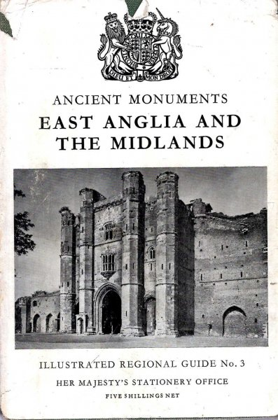 Image for Illustrated Regional Guide to Ancient Monuments volume 3 : East Anglia and the Midlands