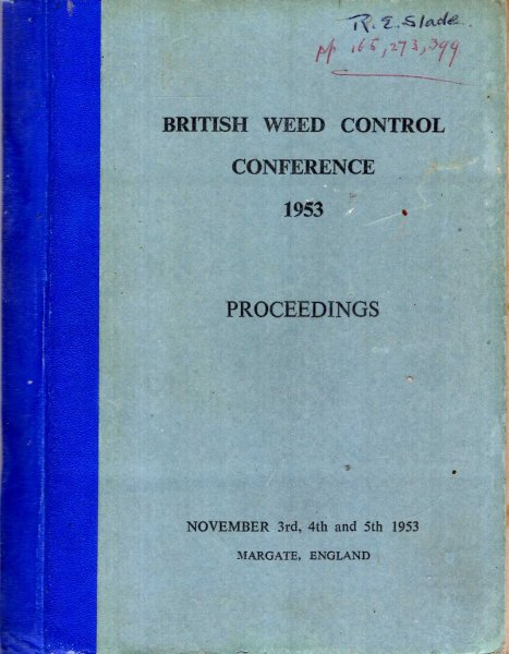 Image for Proceedings of the Fifth British Weed Control Conference 1953