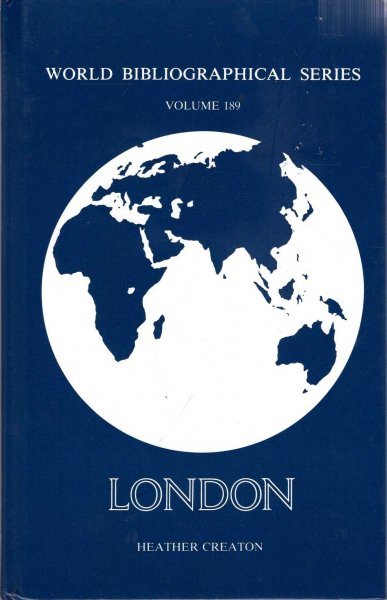 Image for World Bibliographical Series volume 189 : London