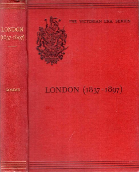 Image for London in the reign of Victoria (1837-1897)