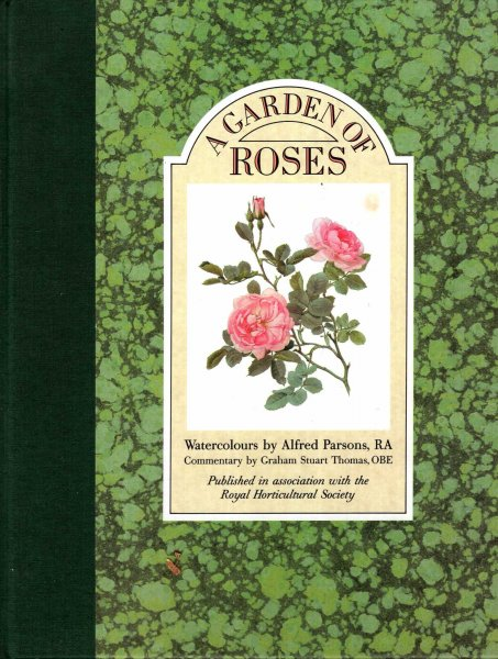 Image for A Garden of Roses - watercolours by Alfred Parsons