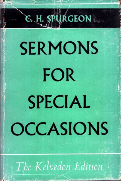 Image for C H Spurgeon's Sermons for Special Occasions