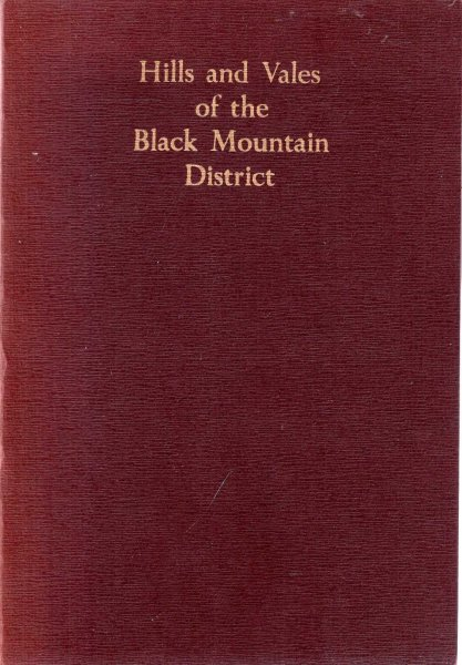 Image for Hills and Vales of the Black Mountain District on the borders of Brecon, Monmouth and Hereford