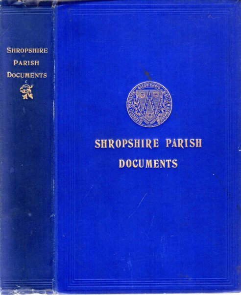 Image for Shropshire Parish Documents
