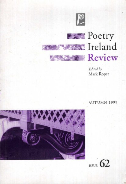 Image for Poetry Ireland Review: Issue 62 Autumn 1999