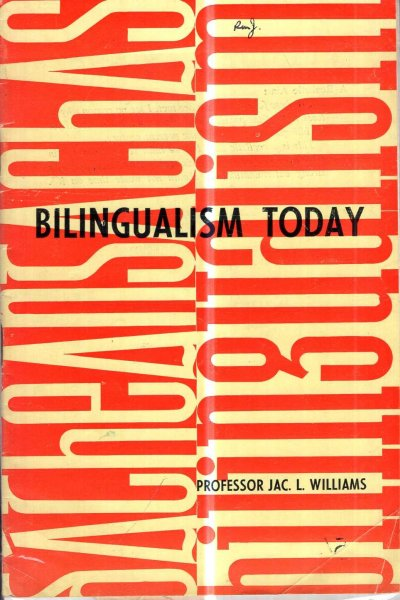 Image for Bilingualism Today