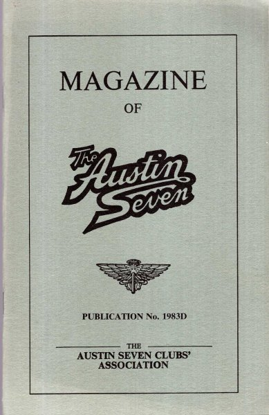 Image for Magazine of the Austin Seven : Publication 1983D