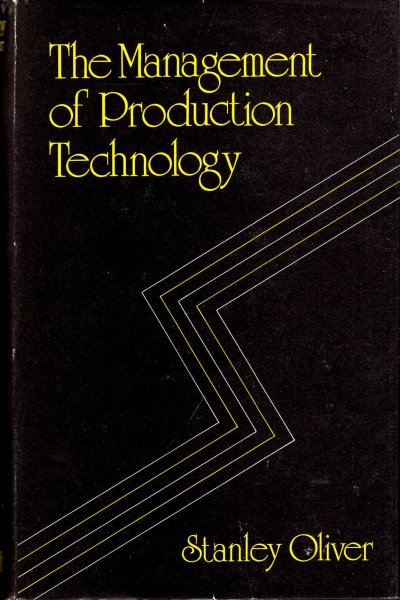 Image for Management of Production Technology
