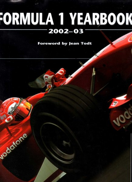 Image for Formula One Yearbook : 2002-2003