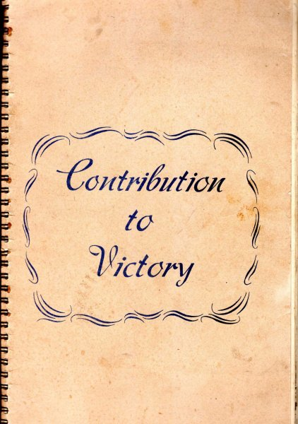 Image for Contibution to Victory by the Associated Equipment Co Ltd