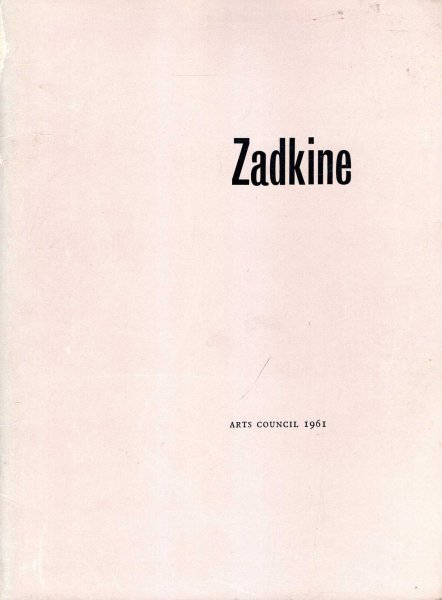 Image for Zadkine, Touring Exhibition, 1961