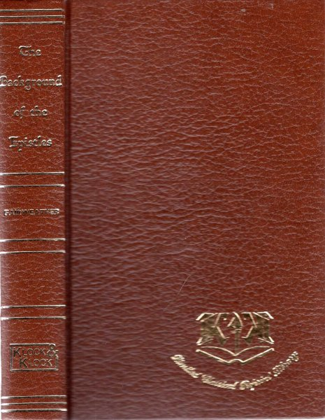 Image for The Background of the Epistles (Limited Classical Reprint Library)