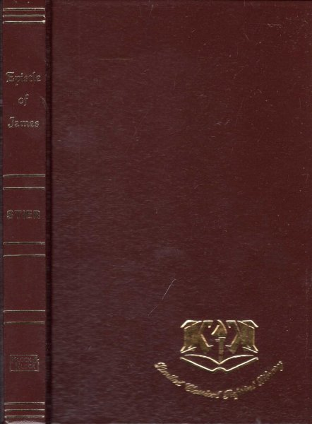 Image for The Epistle of St James (Limited Classical Reprint Library)