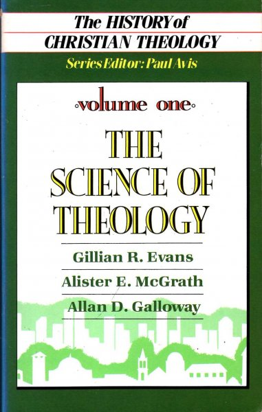 Image for The History of Christian Theology vol.1: The Science of Theology