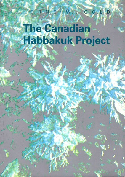 Image for The Canadian Habbakuk Project: a Project of the National Research Council of Canada