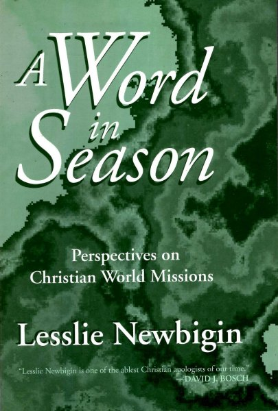 Image for A Word in Season -  perspectives on Christian World Missions