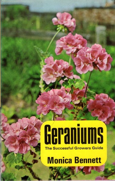 Image for Geraniums - the successful grower's guide