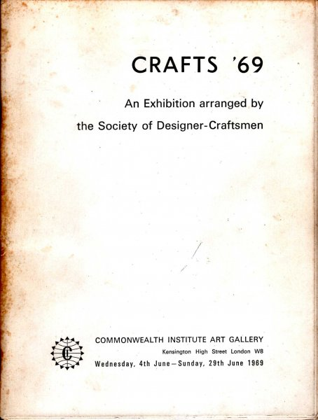 Image for Crafts '60 : an exhibition aranged by the Society of Designer-Craftsmen