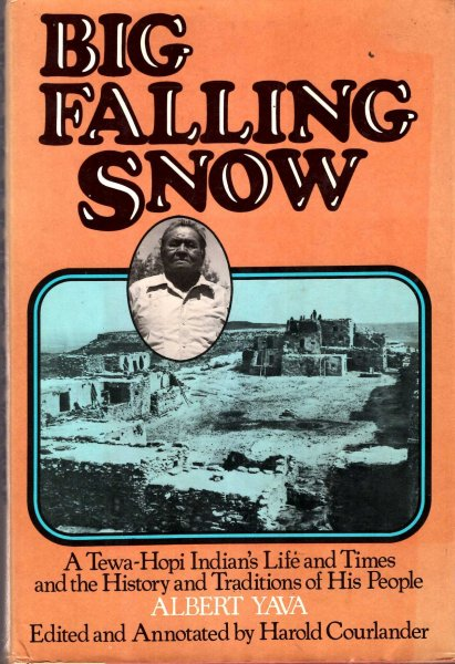 Image for Big Falling Snow: A Tewa-Hopi Indian's Life and Times and the History and Traditions of His People