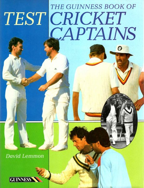 Image for The Guinness Book of Test Cricket Captains