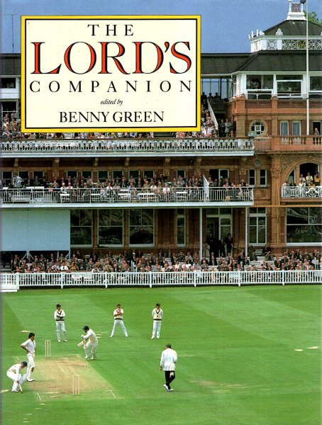 Image for The Lord's Cricket Companion