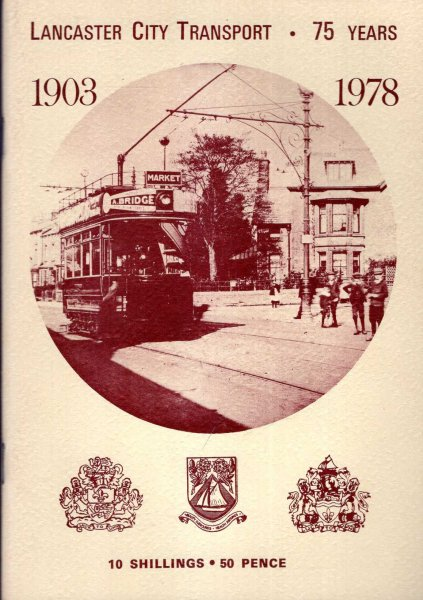 Image for Lancaster City Transport 75 Years : 1903-1978