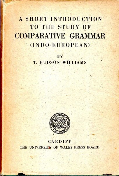 Image for A Short Introduction to the Study of Comparative Grammar (Indo-European)