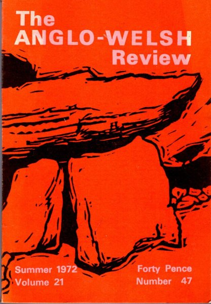 Image for The Anglo-Welsh Review volume twenty-one (21), number forty-seven (47), Summer 1972