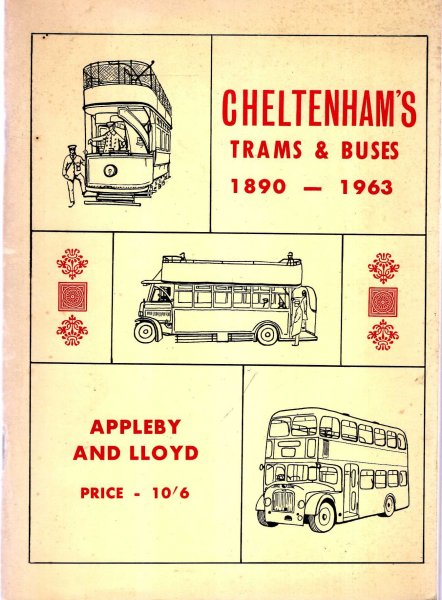 Image for Cheltenham's Trams & Buses 1890-1963