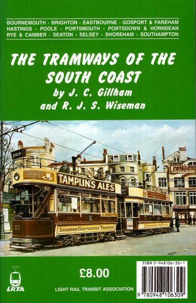 Image for The Tramways of the South Coast