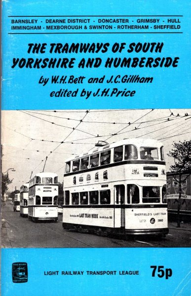 Image for Tramways of South Yorkshire and Humberside