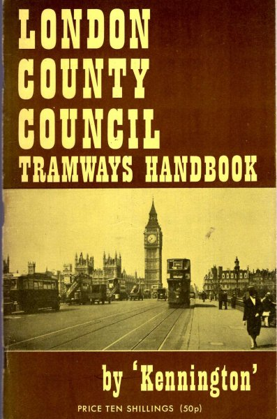 Image for London County Council Tramways Handbook