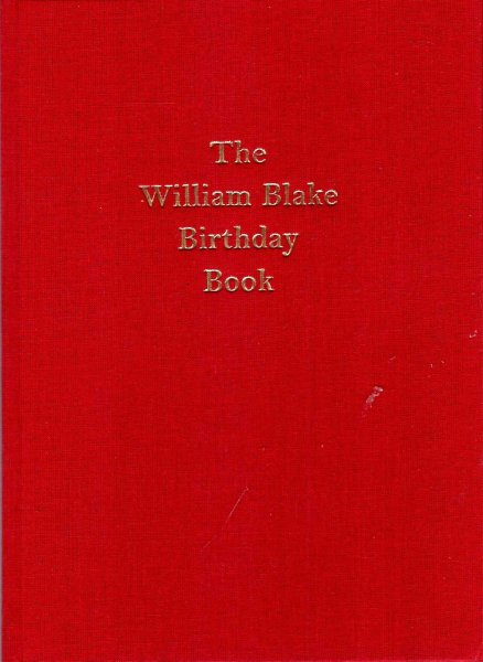 Image for The William Blake Birthday Book 250 years 1757-2007