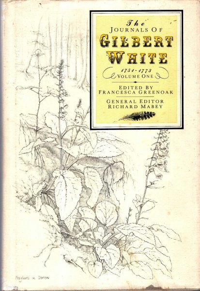 Image for The Journals of Gilbert White, volume one 1751-1773