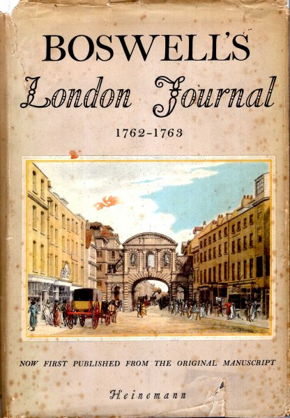 Image for Boswell's London Journal 1762-1763