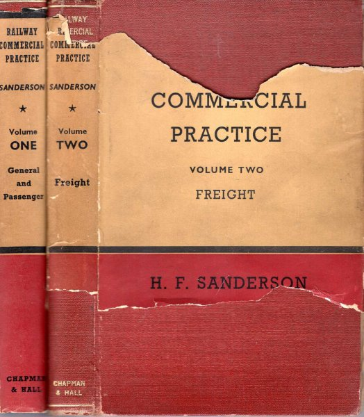 Image for Railway Commercial Practice (two volumes with supplement)