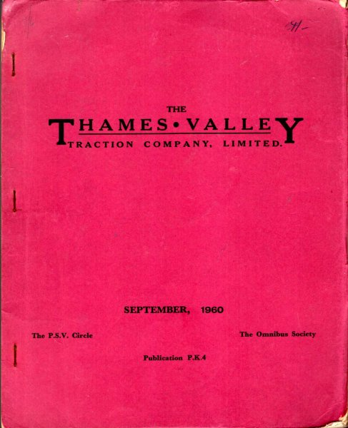 Image for The Thames Valley Tractio Company Ltd incorporating South Midland Motor Servies Ltd and Newbury and District Motor Services