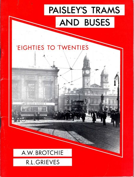 Image for Paisley's Trams and Buses : 'Eighties to 'Twenties