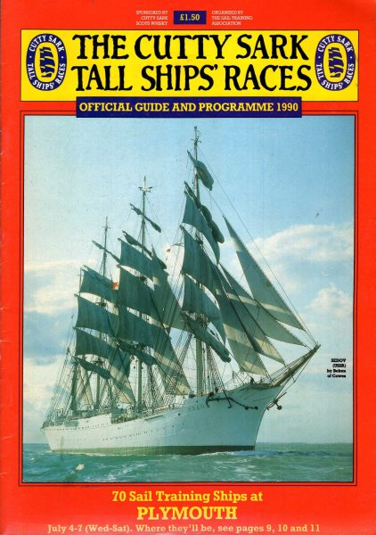 Image for The Cutty Sark Tall Ships Race : Official Guide and Programme, 1990