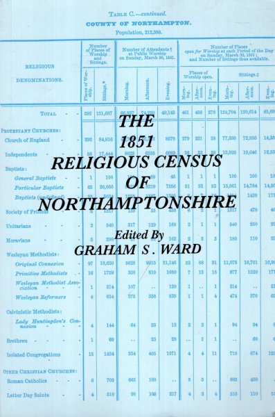 Image for The 1851 Religious Census of Northamptonshire