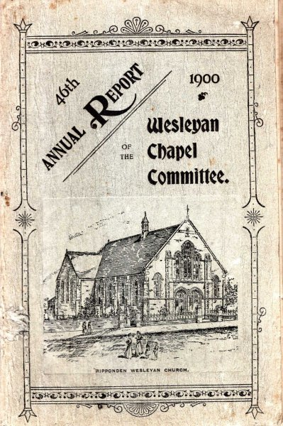 Image for The Forty-Sixth Annual Report of the Wesleyan Chapel Committee, 1900