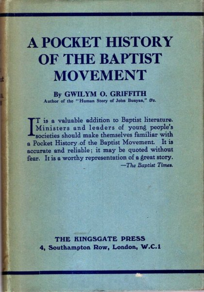 Image for A Pocket History of the Baptist Movement