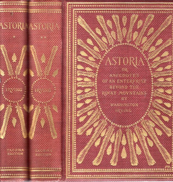 Image for Astoria or, Anecdotes of an Enterprose Beyond the Rocky Mountains (two volumes complete)