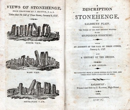 Image for A Description of Stonehenge, on Salisbury Plain, Extracted from the works of the most Eminent Writers on that Stupendous Structure: with an Account of the Fall of Three Stones, January 3, 1797, and a History of the Druids